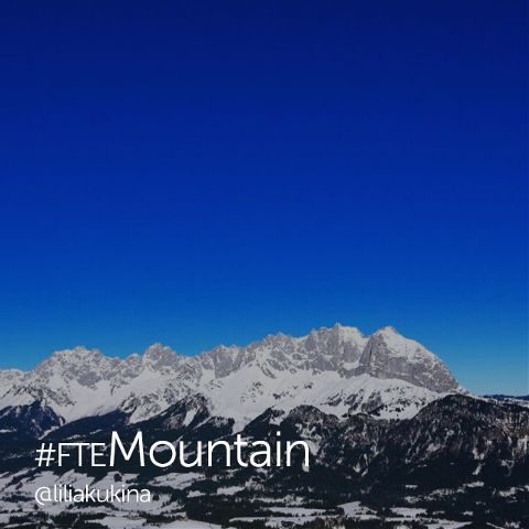 editing mountain picture