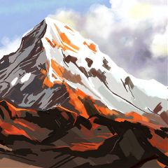 Create,your,own,landscape,for,the,Mountains,Drawing,Challenge.,Enter,the,Contest,with,the,hashtag,#dcMountains.,