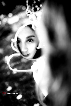 #artselfportrait #blackandwhite #blur #photography #mirror #highcontrast
