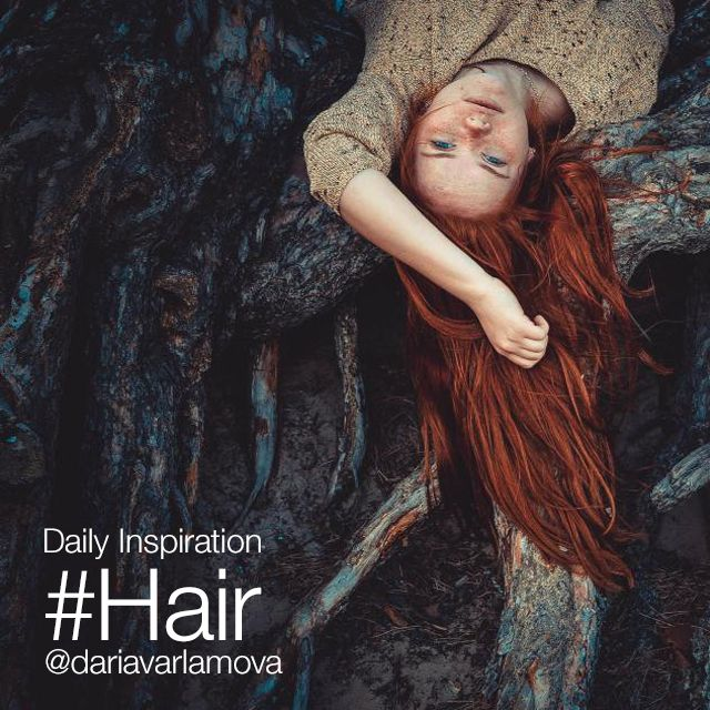 popular hashtag #hair