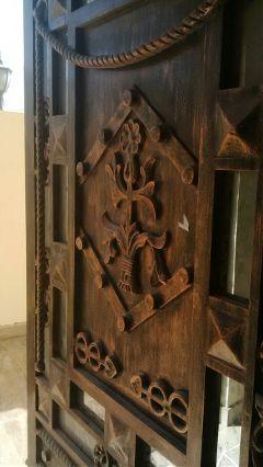 pattern designs door