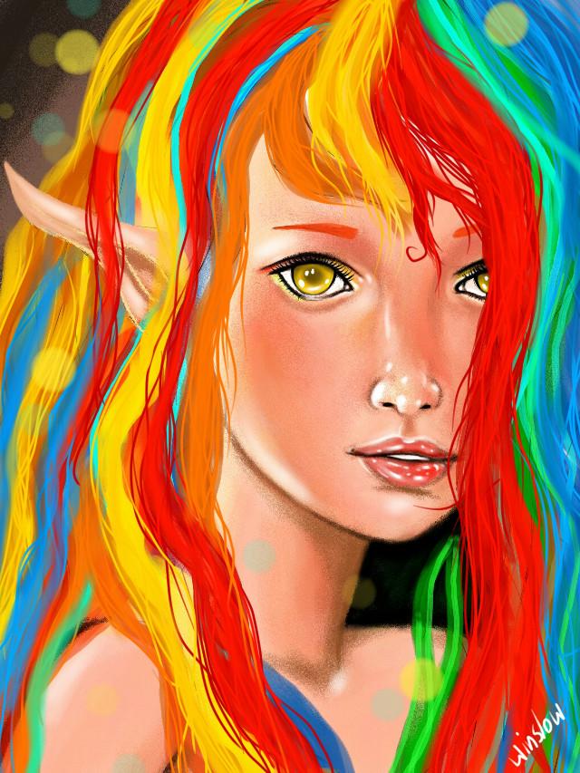 #wdpeyes Strange eyes ... Of a fairy xD http://youtu.be/KzSxAfFlHkA