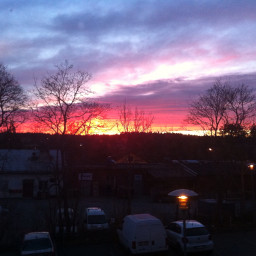 nature colourfulsky eveningtime photograph