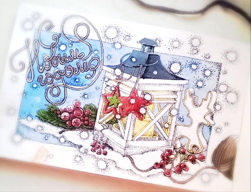New Year mood #sketch #sketchbook #art #drawing #ink #graphic #watercolors
