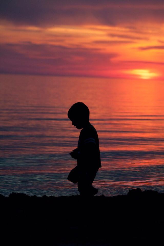 #silhouette #dusk #sunset #sunsetsilhouette #colorful