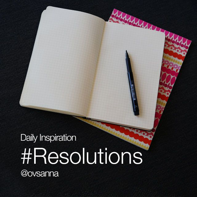 resolutions for New Year