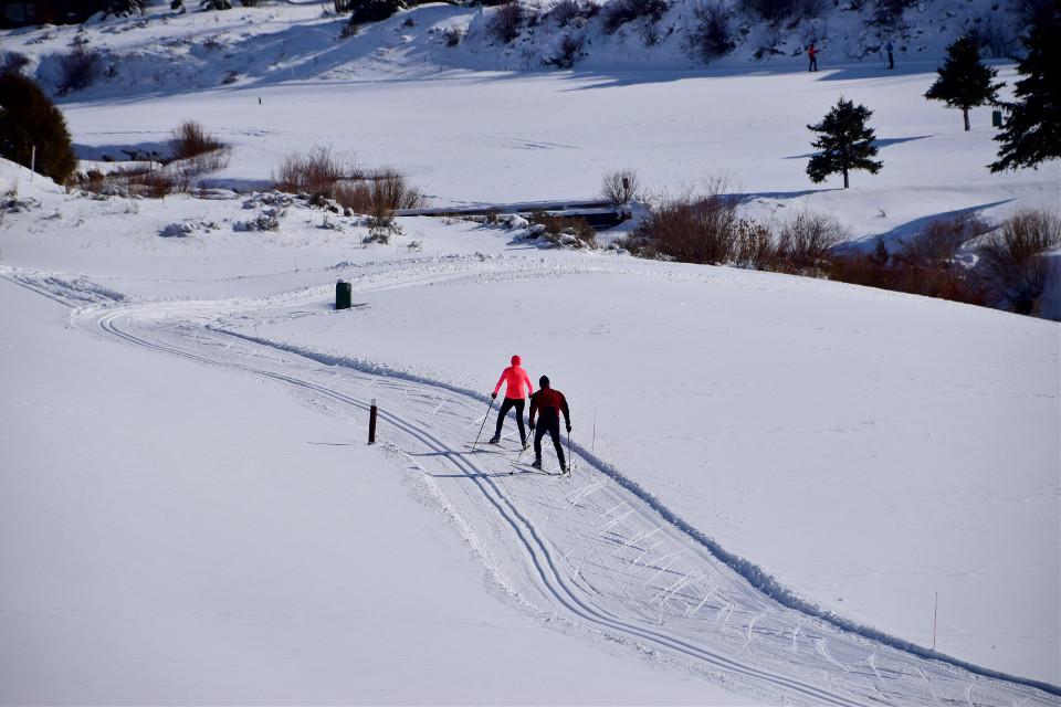 Heading Home #landscapefree#nature #snow#ski