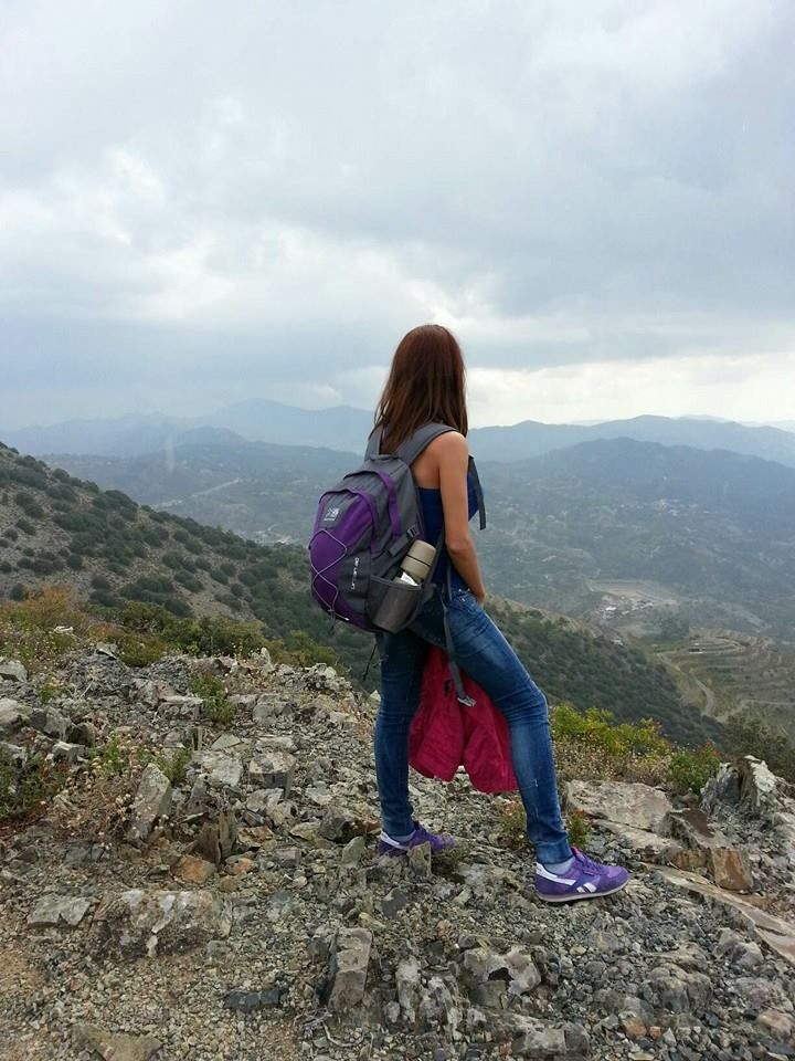 getting in touch with nature #nature #mountains #daytrip #sky #hiking #photography