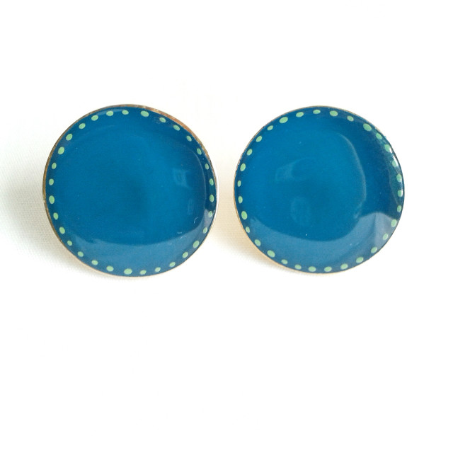 #earrings #color #resin