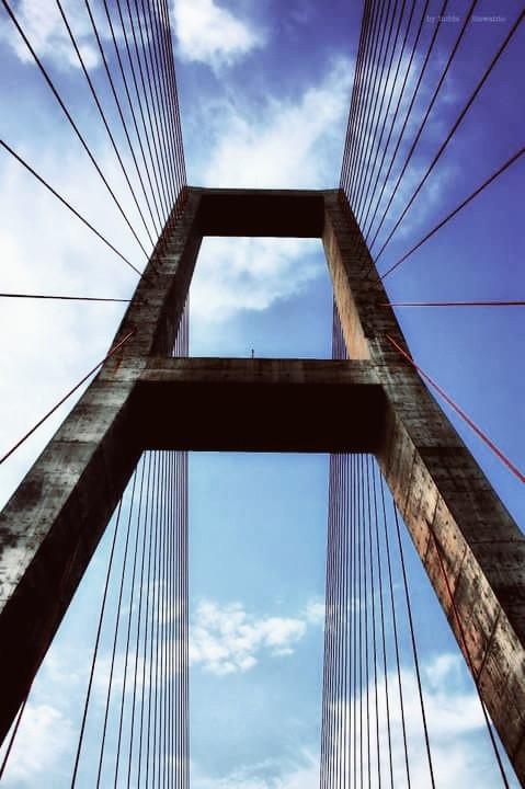 #arcitecture #bridge #indonesia #interesting