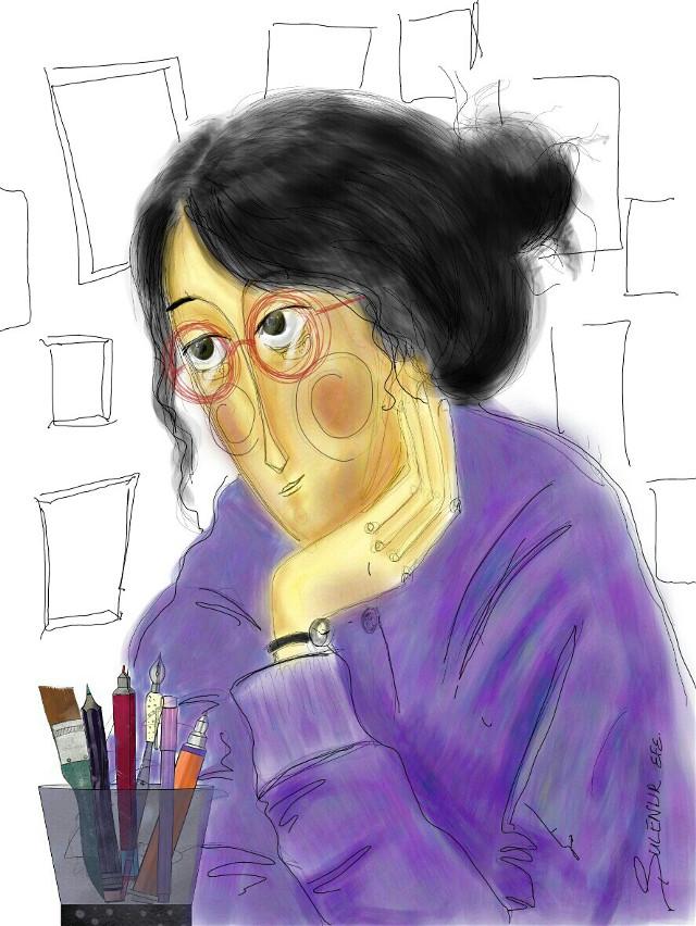 #insdraw #illust #illustrator #illustration  #sketchbook #sanat #sketching #sketchday #sketch #silence  #pencilart #pen #paper #portre #pencil #paint #painting  #picsart #mywork  #art #artwork #artist #arte