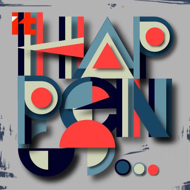 #it #happens .... #abstract #shape #design