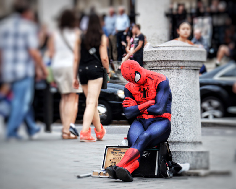 Spider-Man forty winks