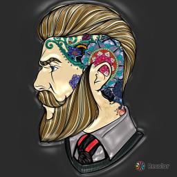 beards men awesome