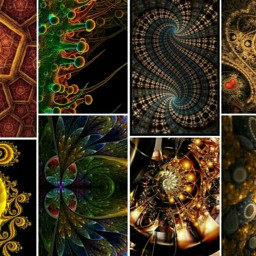 related previous fractals colorful photography