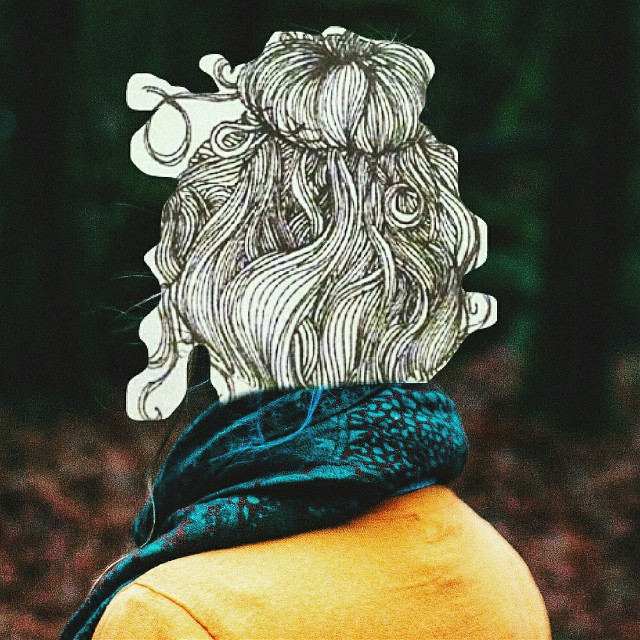 Courtesy of Unsplash and my up-do clip 💜#FreeToEdit @savtree #art #doodle #hair #zentangle #bun #blackandwhite #nature #pencilart #people #photography #popart #retro #vintage #winter #spring