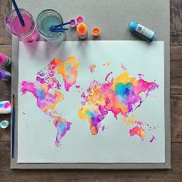 art brightcolor colorful colorsplash color