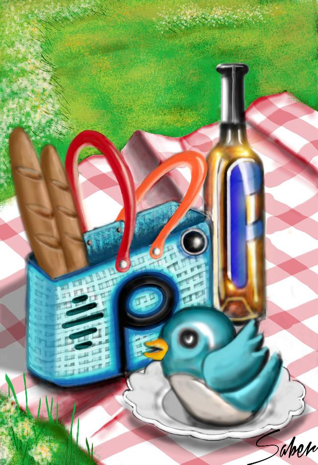 #wdpvacation #colorful  #food  #spring  #vintage  #digitalart #drawing #art #picsart
