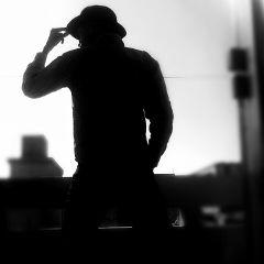 wppdark sillhoute sky sun selfie freetoedit