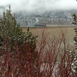 nature hdr austria zillertal winter