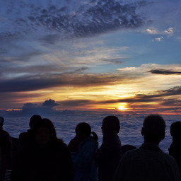 seaofclouds sunrise nature landscape sky