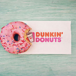 wppflatlay donut dunkindonuts colorful sparkles
