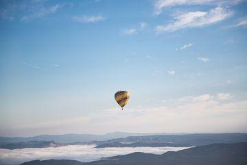 freetoedit water blue airballoon sky